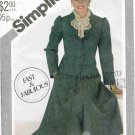 Vintage 1980's Simplicity Sewing Pattern 5606 Half Circle Skirt and Jacket Size 12 UNCUT
