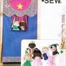 Kwik Sew Craft Sewing Pattern 3322 Puppet Theater and Puppets UNCUT UNOPENED