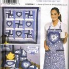 Simplicity Sewing Pattern 9783 Quilt Block Club Home Decor Edition Lesson #1 Quilt Tea Cozy UNCUT
