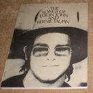 The Songs of Elton John And Bernie Taupin - songbook song book music book sheet music