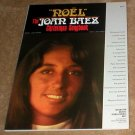 Joan Baez - NOEL - songbook song book music book sheet music