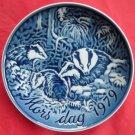 Grande Danica Mothers Day Mors Dag 1979 Badger Plate