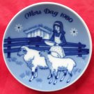 Porsgrunds Norway Mothers Day Plate 1980