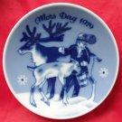 Porsgrunds Norway Mothers Day Plate 1979