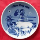 Porsgrunds Norway Mothers day plate 1978