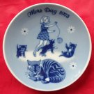 Porsgrunds Norway Mothers day plate 1973