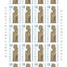 Denmark Faroe Islands stamps mint full sheet 1.10 Danish Kroner