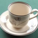 Keltcraft Partners Noritake 9127 Cup and Saucer set