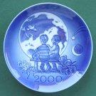 Royal Copenhagen Millennium 2000 Plate Boxed