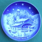 RETSCH GERMANY CHRISTMAS PLATE 1970 PURSCHLING CASTLE OBERAMERGAU