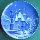 Berlin Design The German Christmas Plate 1972 Michelstadt