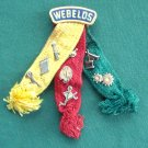 Boy Scouts Vintage Webelos With 8 Pins