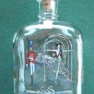 Holmegaard Glass H C Andersen annual bottle decanter 1987