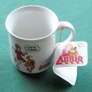 Vintage Little Annie porcelain cup mug Leapin Lizards 1982