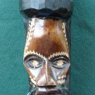 Vintage Easter Island Wood Carved Head Tamaka NO PROBLEM