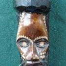 Vintage Easter Island Wood Carved Head Tamaka NO PROBLEM