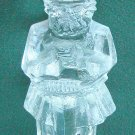 Pukeberg Sweden Art Glass Viking figurine