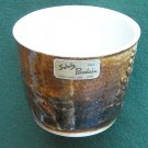 Collectors Schulz Porcelain cup Mount St Helens ash glazed
