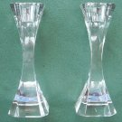 2 Villeroy and Boch Cocktail Club crystal glass candle holders