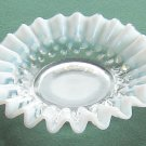 Vintage Anchor Hocking Hobnail Moonstone Glass Bowl Ashtray