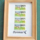 Denmark 4 Framed 3.75 KR Stamps