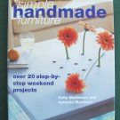 Simple Handmade Furniture Hardcover 2001