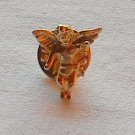 Ballou Guardian Angel Gold Tone Metal Tie Tack Pin
