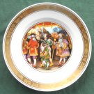 Royal Copenhagen H C Andersen plate THE EMPERORS NEW CLOTHES