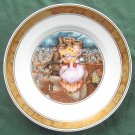 Royal Copenhagen H C Andersen plate THE SHEPHERDESS AND THE CHIMNEY SWEEP