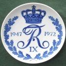 Royal Copenhagen Denmark King Frederik IX 1947 - 1972 plate