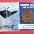 Global Vigilance Highland US Air Force Military Mint Coin Set