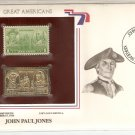 Great Americans John Paul Jones US 1 Cents Gold 1936