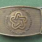 Vintage Lee Co American Revolution belt buckle