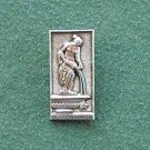 Original Vintage Soviet Russian Metal Pin