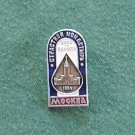 Moscow Мockba Soviet Russian Enamel Metal Pin