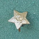 Collectors vintage Star Hammer Sickle Soviet Russian Army metal tac pin