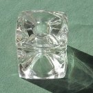 Crystal Cube candle holder