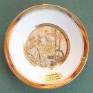 Original LAL 24K Gold Chokin Art Plate PL 205