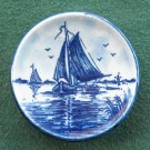 Vintage Delft Holland Handpainted Boat plate