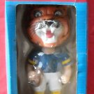 Vintage Pittsburgh Panthers Pitt Panther Mascot bobbing head doll 1984