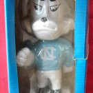 Vintage NORTH CAROLINA &quot;TAR HEELS&quot; Mascot bobbing head doll 1984