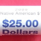 Sacagawea $1 Golden Dollar Coin Roll US Mint 2009