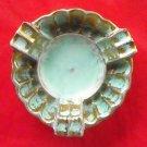 Original Stangl #2 Round Art Pottery 5056 Antique Gold 1950s