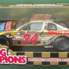 Mike McLaughlin # 34 Goulds pumps 1998 Nascar Gold 1/24 diecast