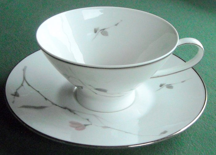 Rosenthal Germany China Pattern Japanese Quince 3725 Cup & Saucer Set