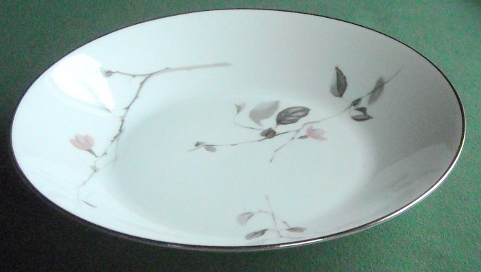 Rosenthal Germany china pattern Japanese Quince 3725 deep soup bowl plate