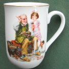Norman Rockwell Museum The Cobbler cup mug 1982