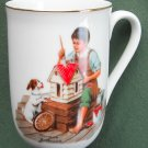 Vintage Norman Rockwell Museum A Dollhouse For Sis cup mug 1982