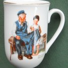 Norman Rockwell Museum The Lighthouse Keepers Daughter cup mug 1982