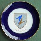Vintage Furstenberg Germany Luftwaffengruppe Nord plate